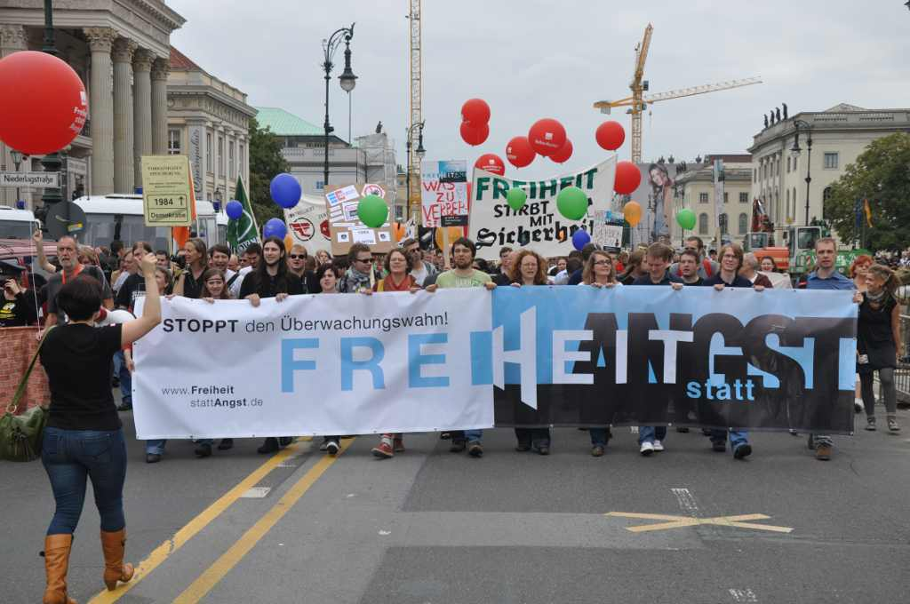 Demonstrationszug Freiheit statt Angst 2011