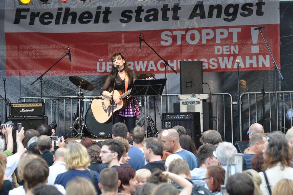 Nina Hagen Freiheit statt Angst 2011
