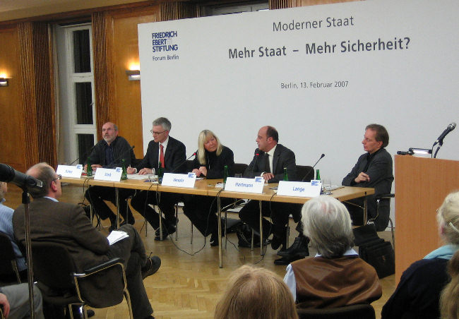 Podiumsdiskussion in der Friedrich Ebert Stiftung