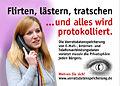 Plakáty s tématikou sledování dat